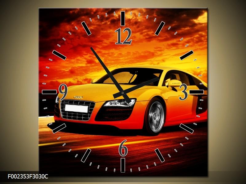 Automotive art wandklokken